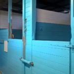 Blå stallet